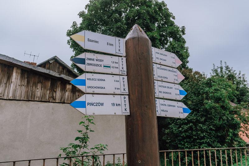 Busko-Zdrój szlaki turystyczne