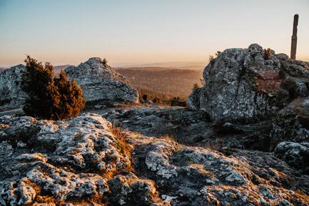 Góra Zborów Skalny Rezerwat