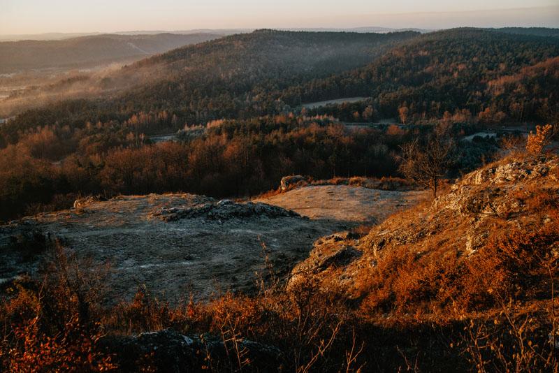 Góra Zborów widoki