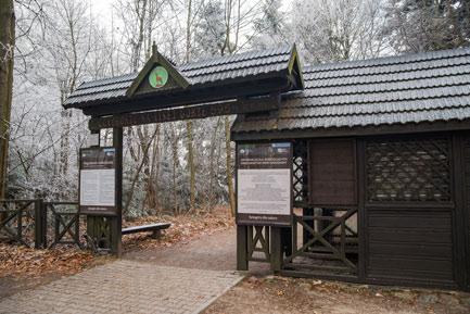 Góry Świętokrzyskie niedaleko Kielc