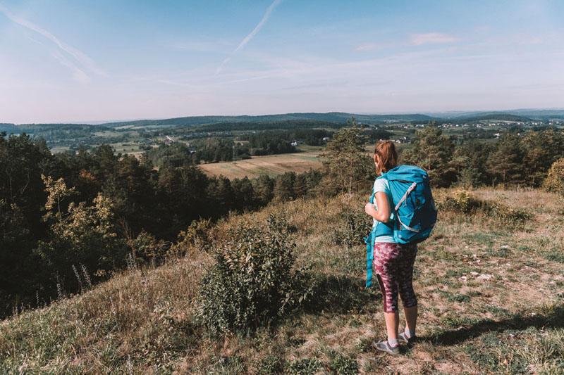 Góry Świętokrzyskie - szlak turystyczny