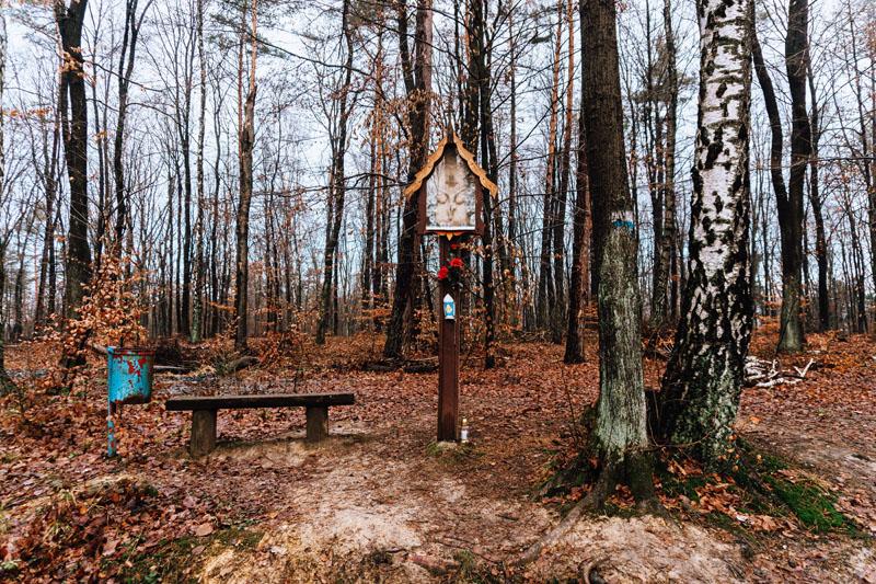 Kapliczka leśna Trójca Święta