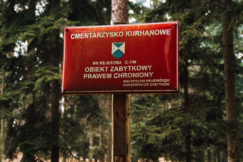 Cmentarzysko kurhanowe Bochnia