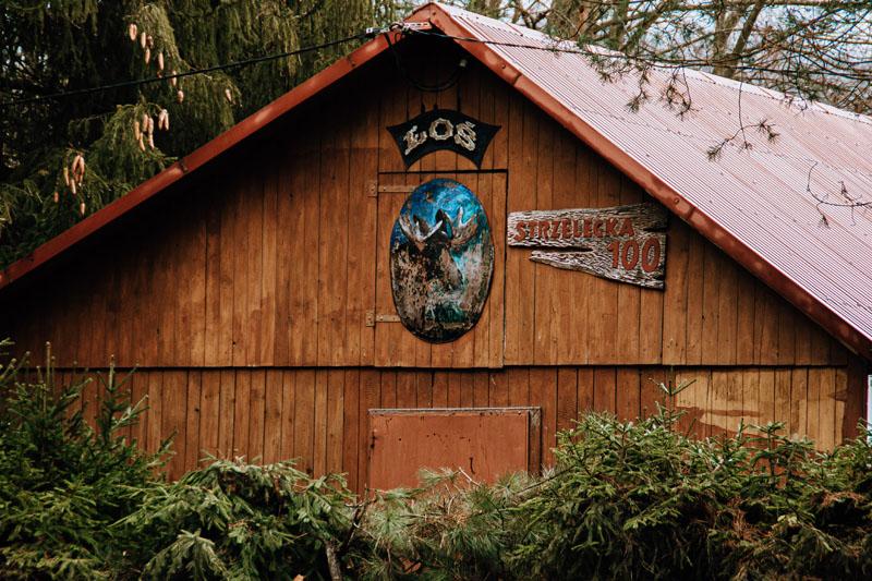Budynek leśniczówki ŁOŚ