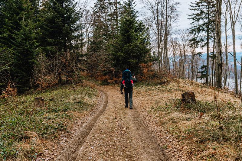 Nagrywanie telefonem w górach