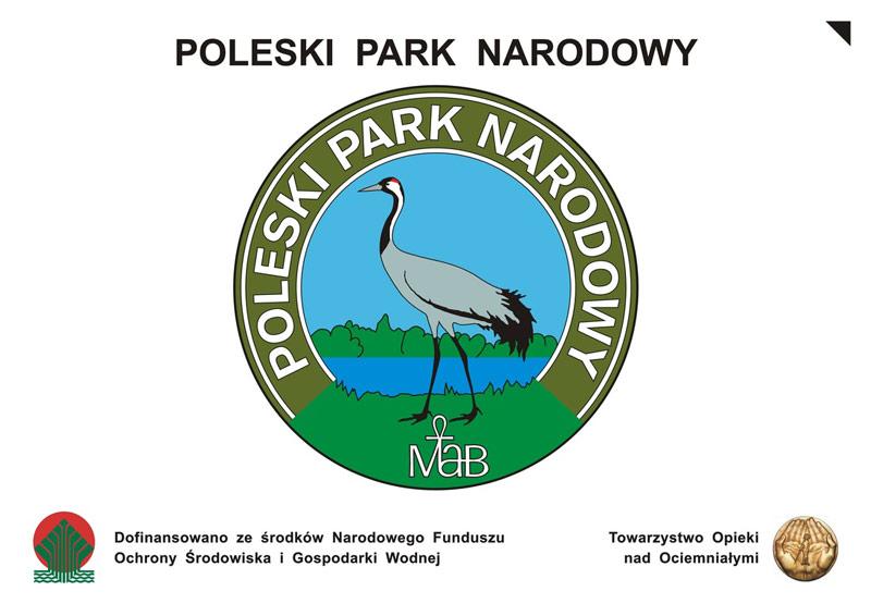 Logo Poleski Park Narodowy