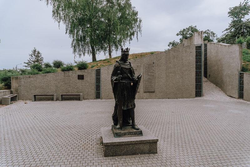 Pomnik Leszka Czarnego w Busku-Zdroju