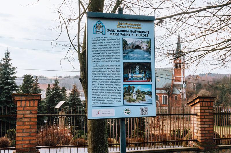 Historia groty w Porąbce Uszewskiej