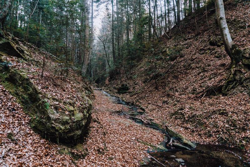 Potok Granicznik Czchów