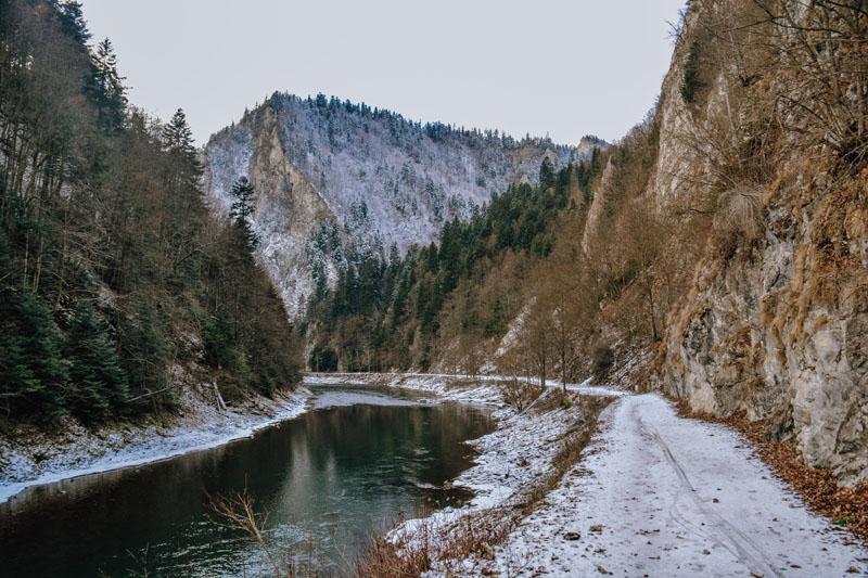 Przełom Dunajca Sromowce Niżne