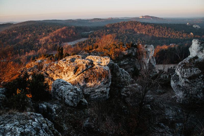 Punkt widokowy Góra Zborów