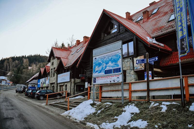 Stacja narciarska Dwie Doliny Wierchomla