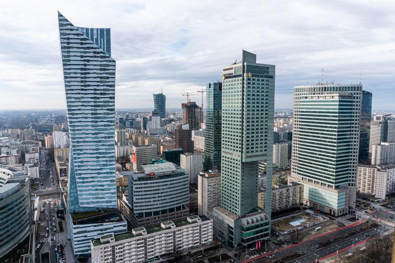 Taras widokowy Warszawa
