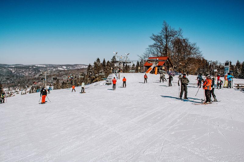 Stok narciarski Wierchomla Wielka