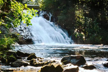 Wodospad Sopotnia Beskidy