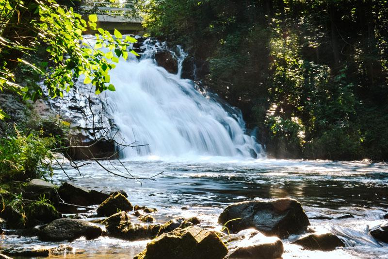 Wodospad Sopotnia - atrakcja śląsk