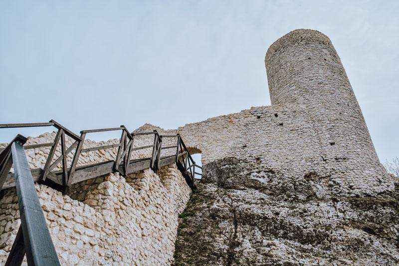 Zamek Pilcza baszta