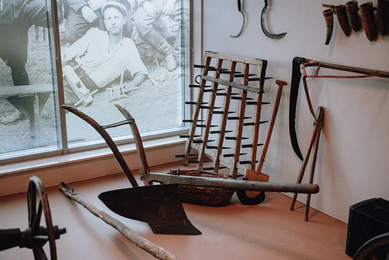 Eksponaty Muzeum Lachów Sądeckich