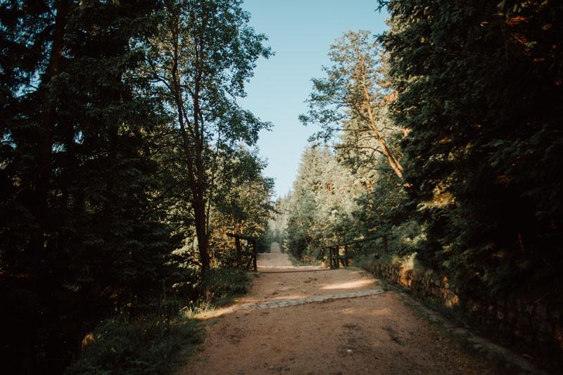 Kukułcze Skały - szlak Karkonosze