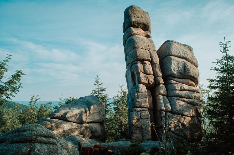 Atrakcja Szklarskiej Poręby - skały