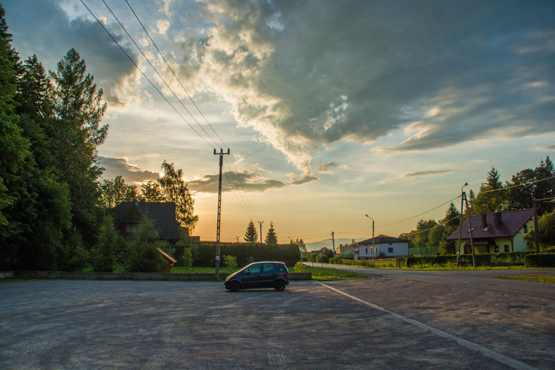 Parking Malinowska Skała
