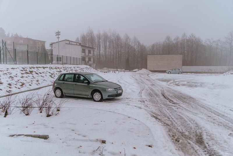 Parking lasy Błędowskie