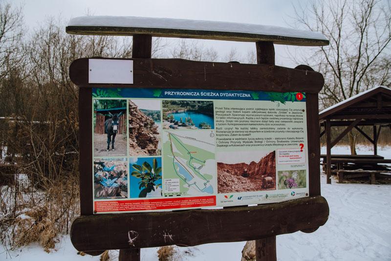 Ścieżka przyrodnicza park gródek