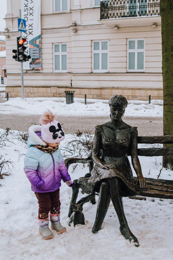 Poświatowska pomnik Częstochowa