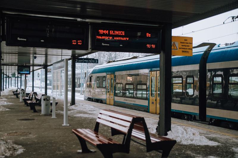 Częstochowa - najdłuższy peron w Polsce