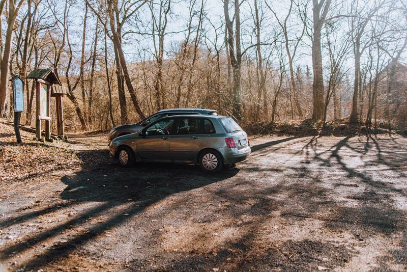 Dolina Miłości parking