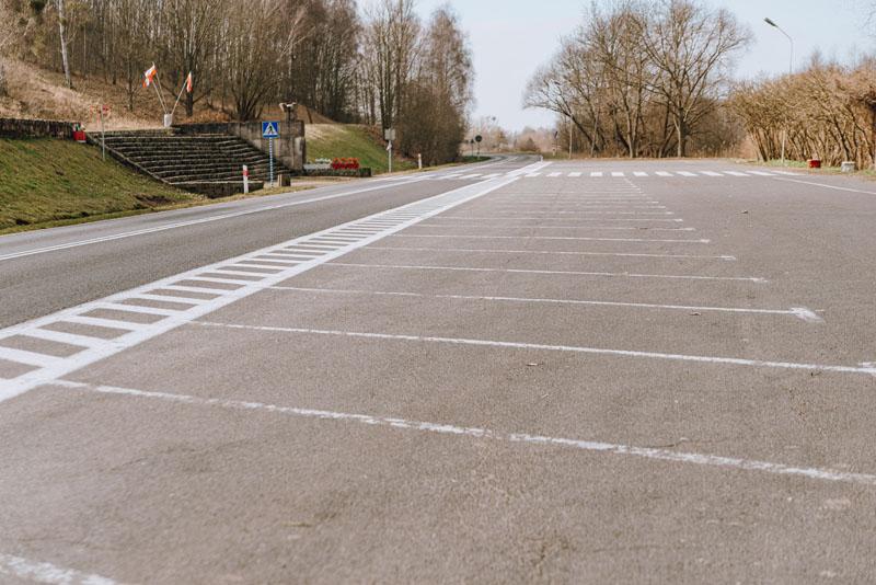 Parking pod Górą Czcibora