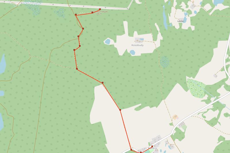 Góra Krajoznawców mapa