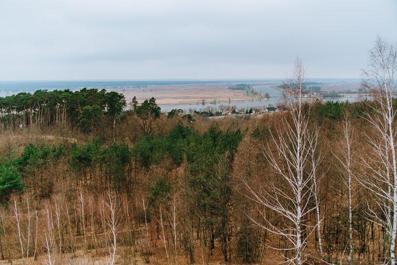 góra słowiańska dolina dolnej odry