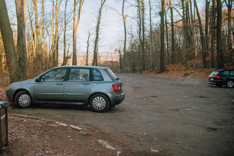 Jezioro Szmaragdowe parking