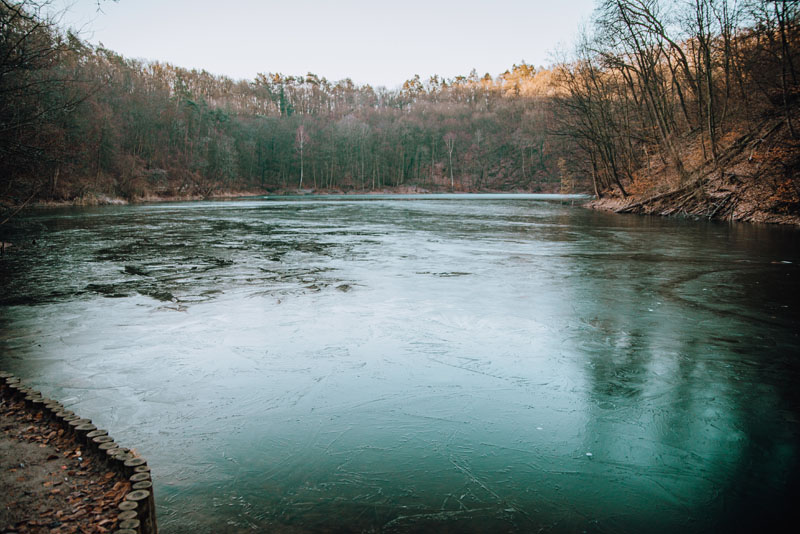 Jezioro Szmaragdowe w Szczecinie