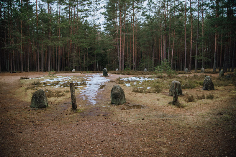 Kamienne kręgi Polska
