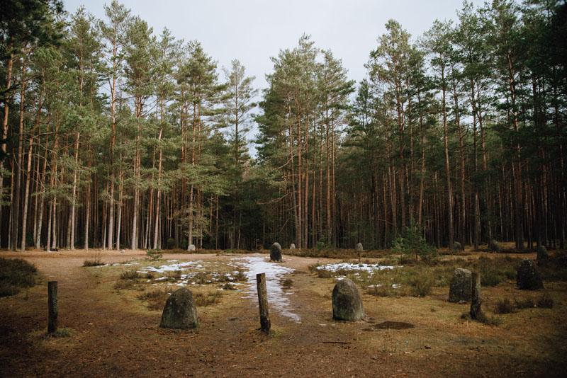 Kamienne kręgi w Koszalinie