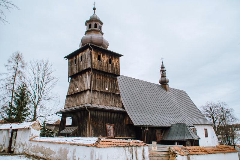 Kościół drewniany skrzydlna