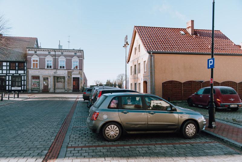 Nowe Warpno parking