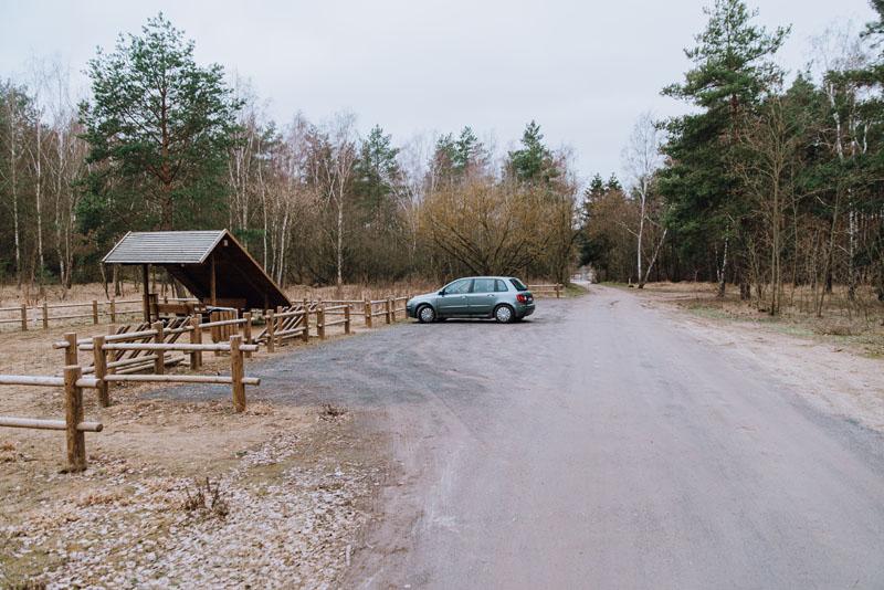 Parking zachodni kraniec polski