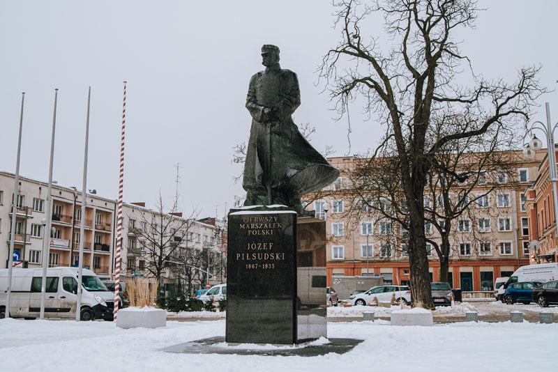 Pomnik Piłsudskiego w Częstochowie