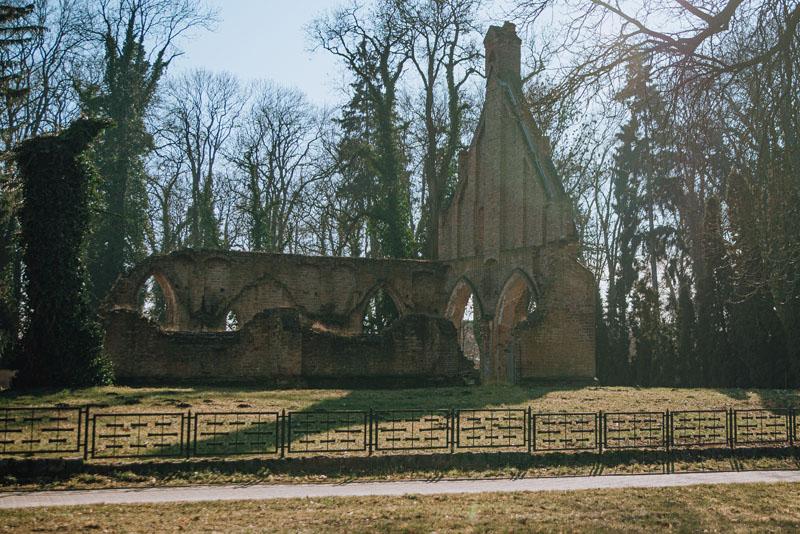Ruiny kaplicy świętej Gertrudy