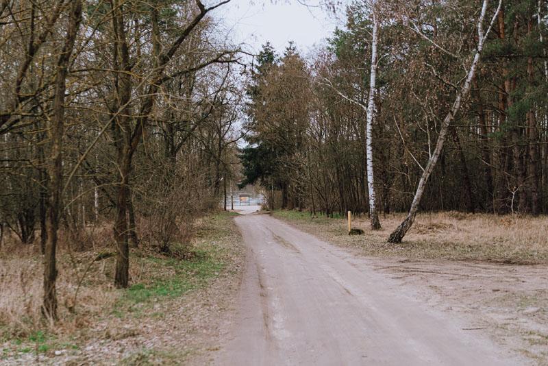 Ścieżka do zachodniego krańca Polski
