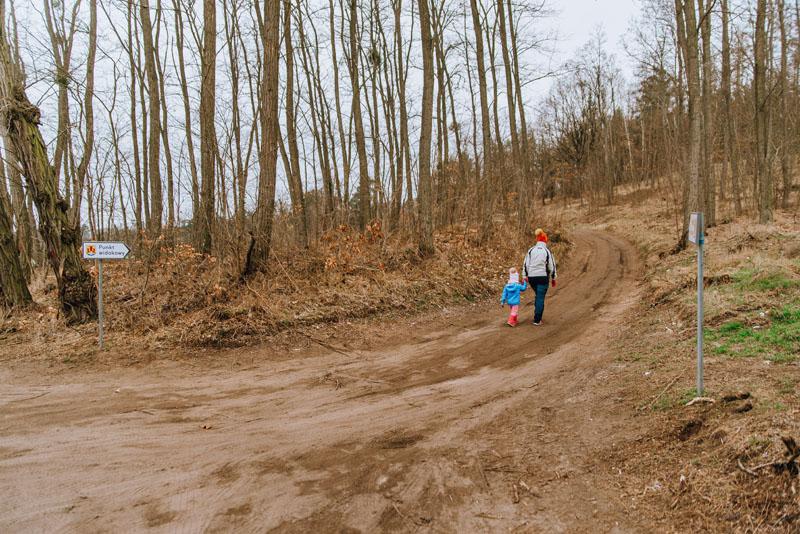 szlak z dzieckiem na widuchową