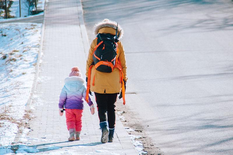 Worecznik szlak z dzieckiem