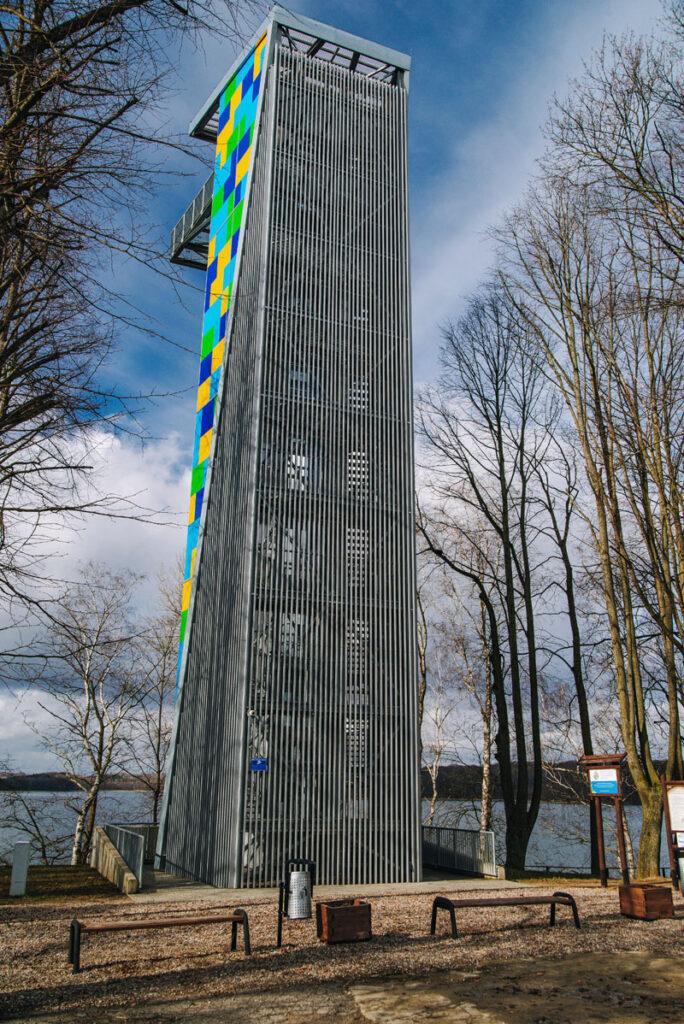 wieża widokowa ińsko