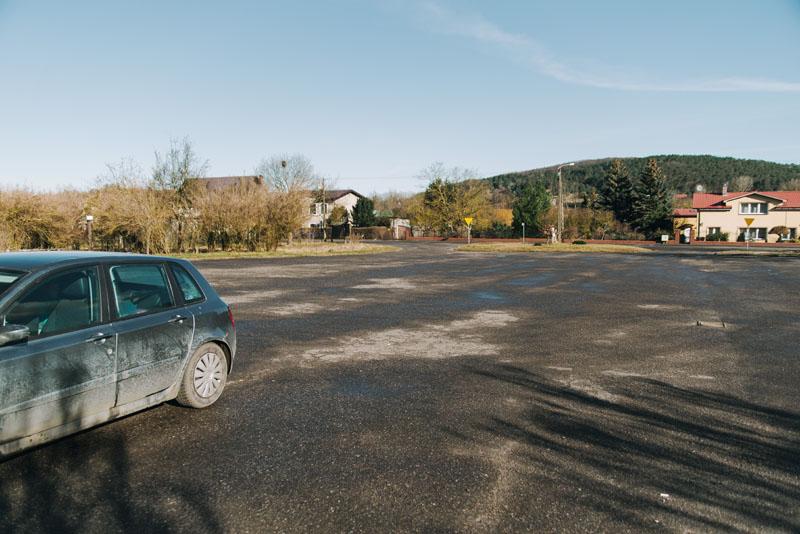 Jezioro Turkusowe parking