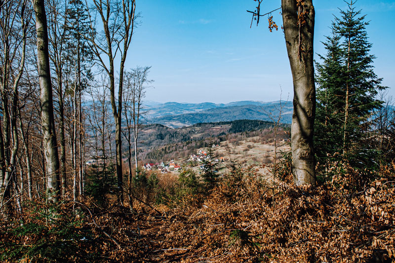 Przełęcz Weska