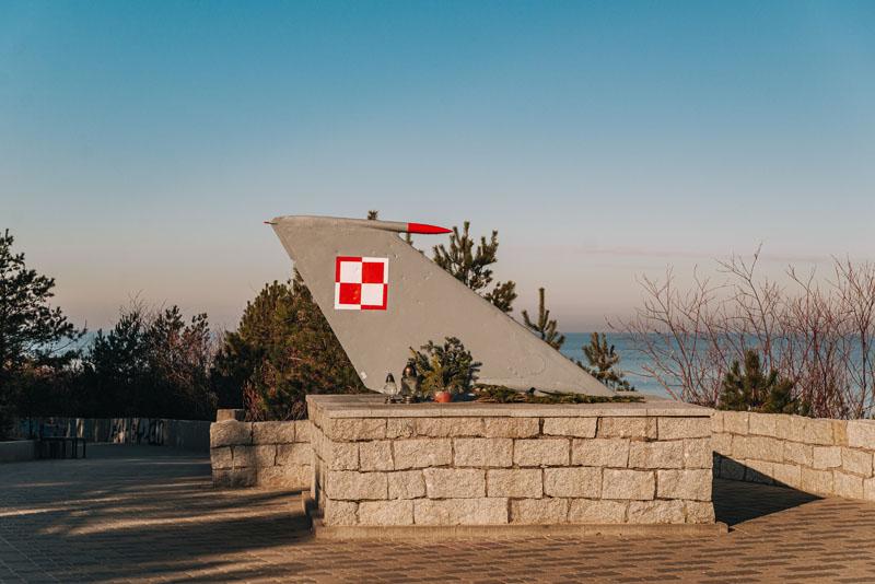 pomnik lotników mielno