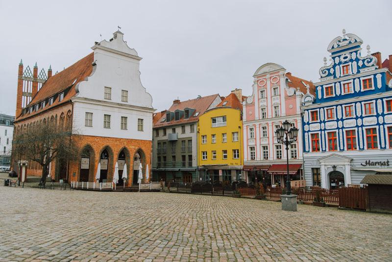 Rynek Sienny w Szczecinie